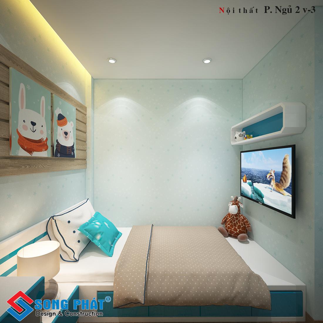 Phòng ngủ bé trai 2.