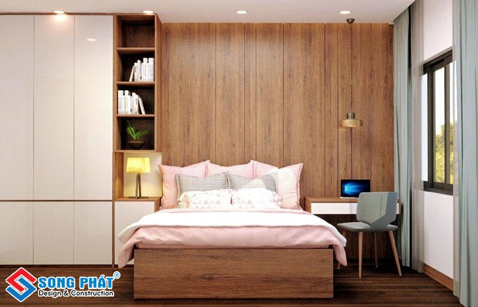 Phòng ngủ tông màu sáng