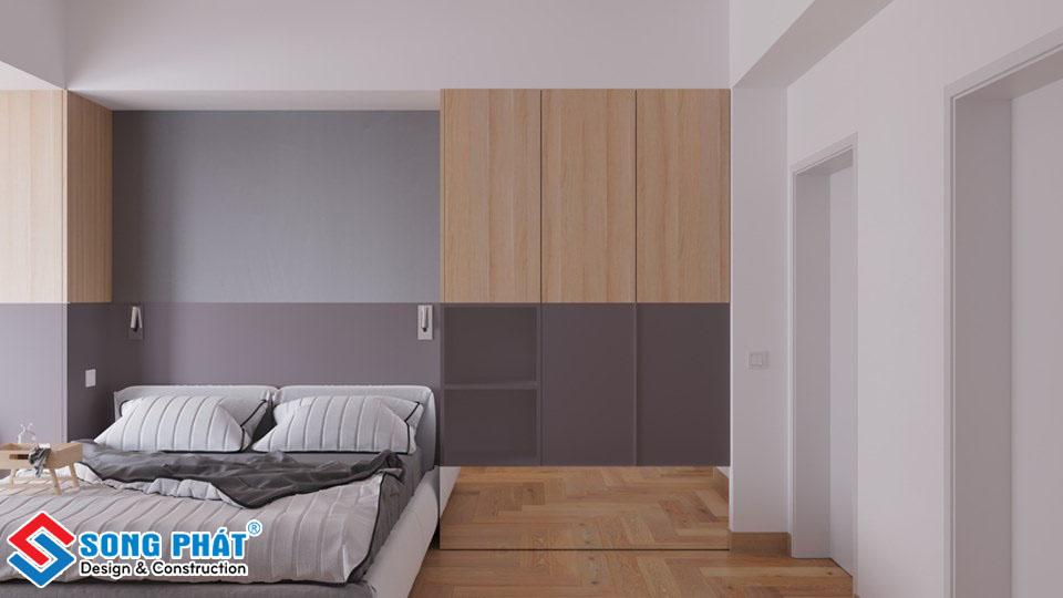 Tủ quần áo trong phòng ngủ