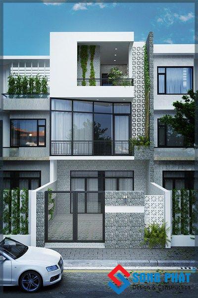 nhà ba tầng diện tích 5 x 12
