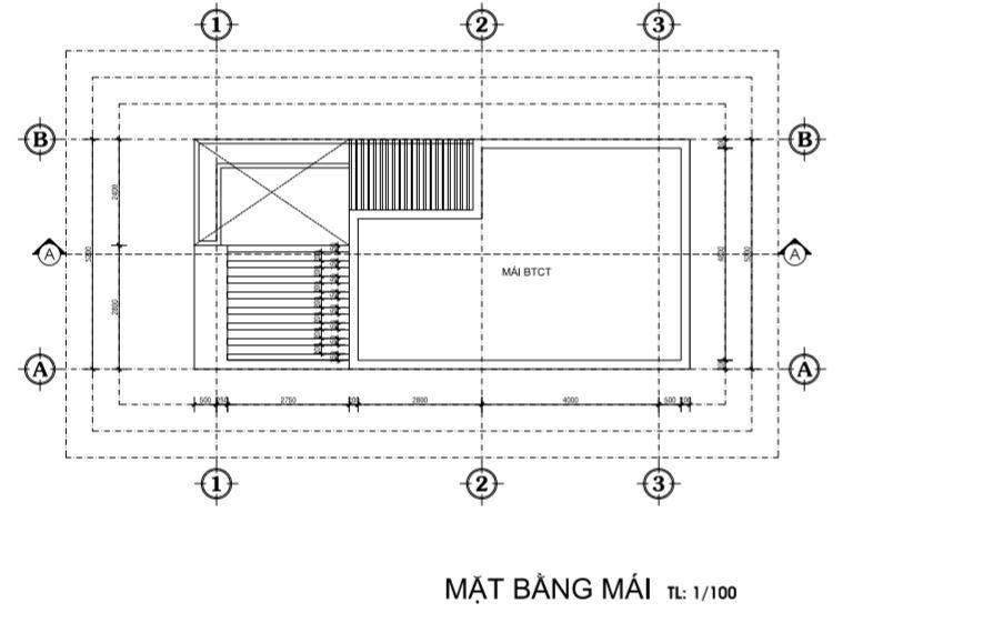 mat-bang-mai-nha-1tret-1lau-co-san-thuong-garage-de-xe