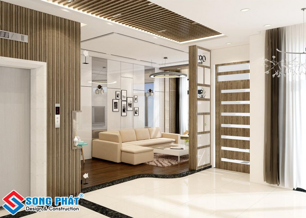 thiết kế nội thất biệt thự hà đô