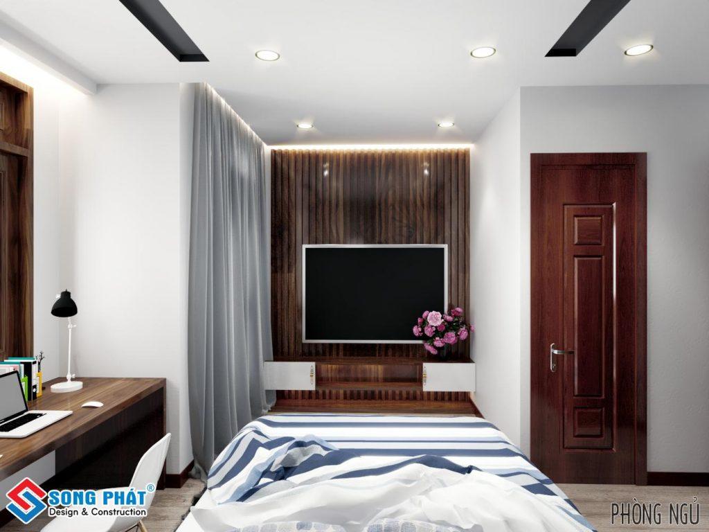 Thiết kế phòng khách với gỗ gõ đỏ 5.