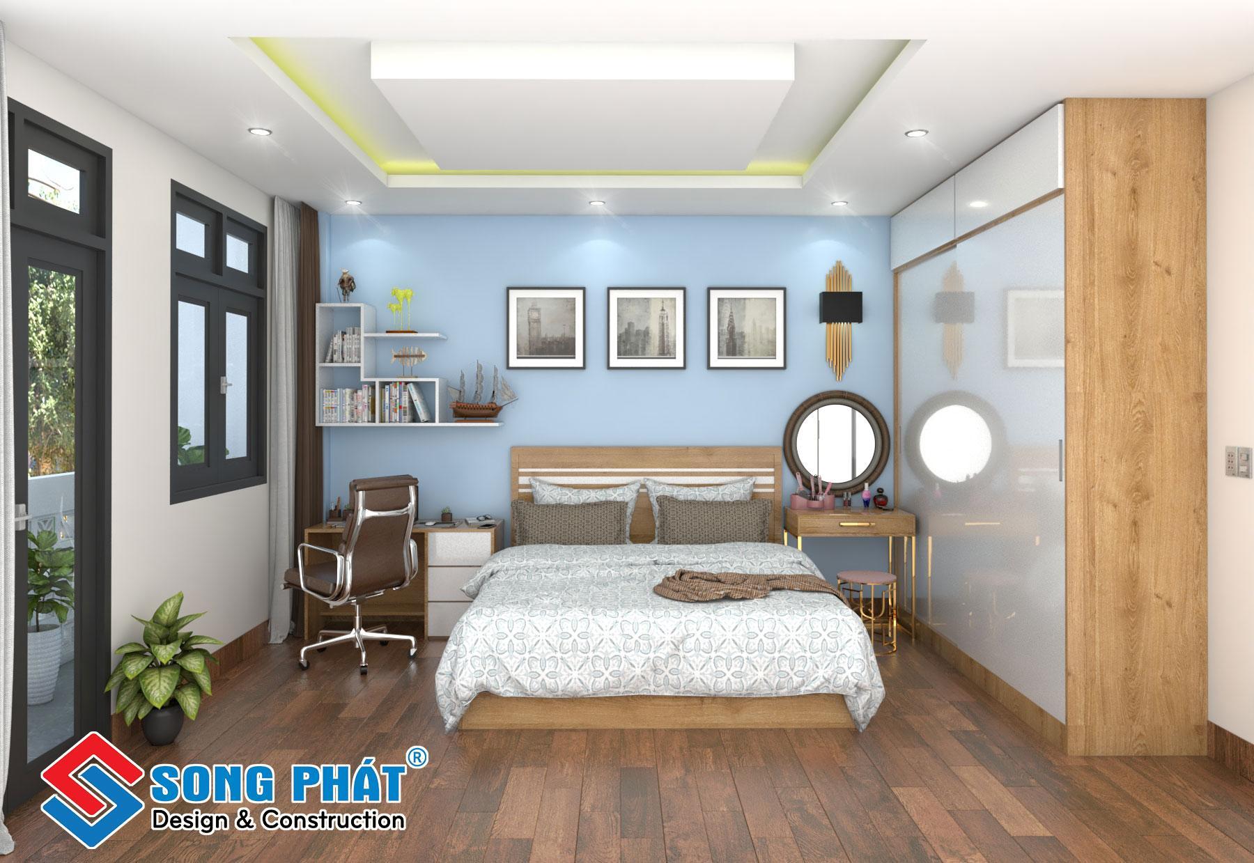 Nội thất phòng ngủ lầu 2.