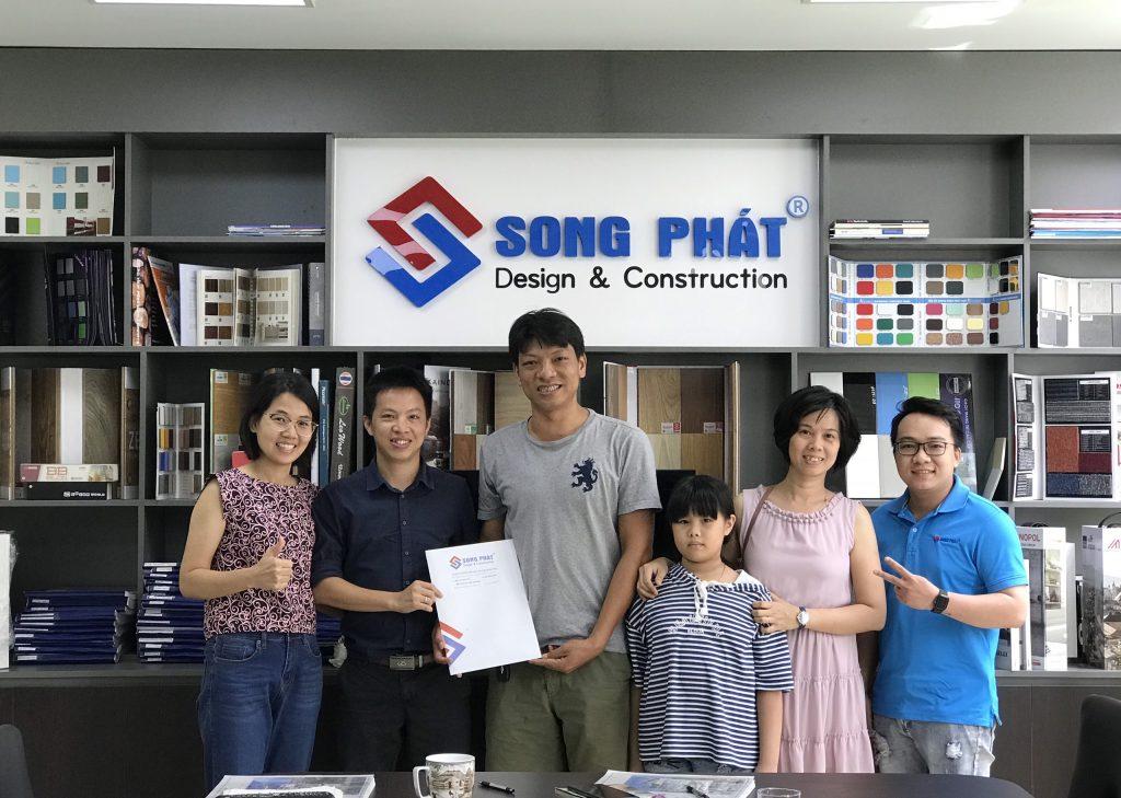 Quy trình thiết kế nhà bước 3 kí kết hợp đồng thiết kế nhà.