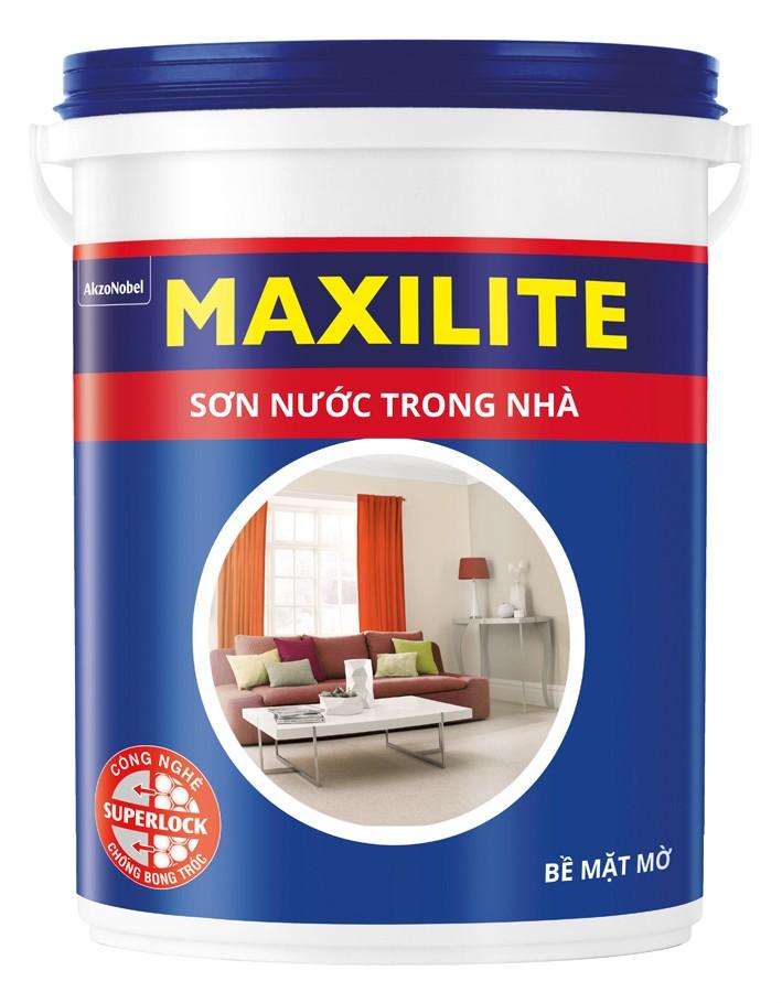 Loại sơn nước kinh tế maxilite.